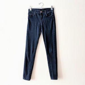 J Brand Indigo Blue Skinny Jeans